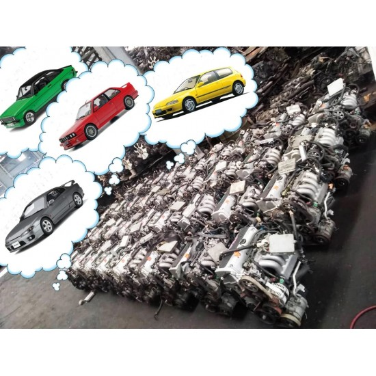OEM Honda K24A JDM Engine Complete